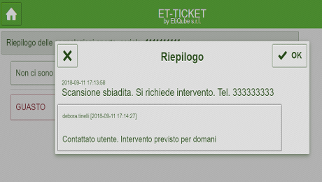 ET-Ticket Riepilogo